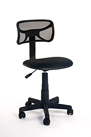 VECELO Comfortable Task Office Chair Adjustable Home Desk Chair