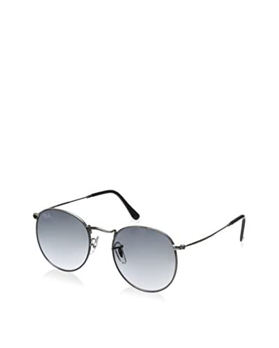 Ray Ban Women's Round Flash Sunglasses, Silver-Tone