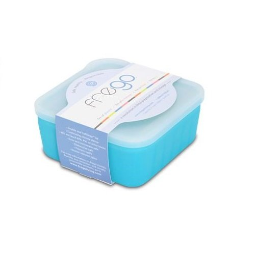 Frego Fr-Blue Chemical Free Sustainable Glass Food Storage Container (Blue)