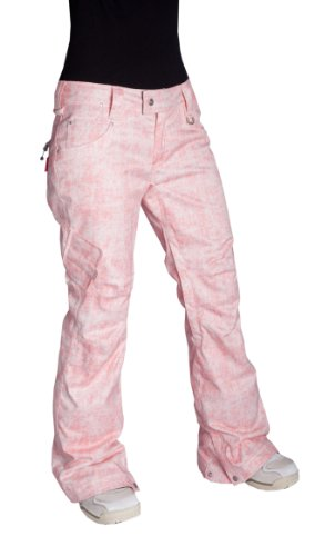 Betty Rides Women's Acid Wash Skinny Jean Snowboard/Ski Pants