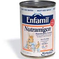 Enfamil Nutramigen Lipil Iron Fortified Hypoallergenic Infant formula Concentrated Liquid - 13 oz / can, 12 cans / pack