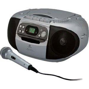 SOUNDLOOK CDステレオラジカセ シルバー SAD-4924/S