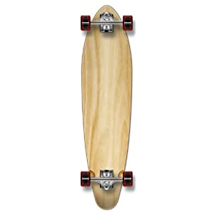 New Complete Longboard KICKTAIL 70's shape skateboard w/ 71mm wheels