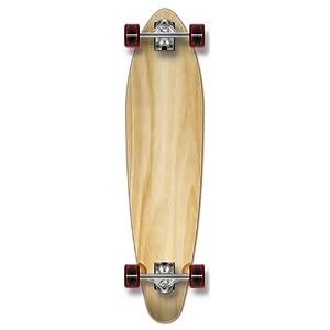 New Complete Longboard KICKTAIL 70's shape skateboard w/ 71mm wheels