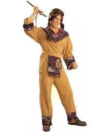 Brave Native American Adult Costume