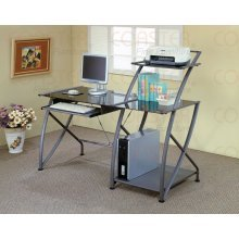 Buy Low Price Comfortable Contemporary Single Pedestal Computer Desk – Coaster 800247 (B005LWT6QQ)