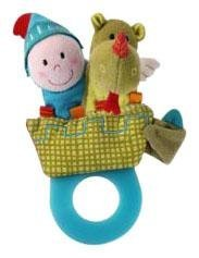Lilliputiens Walter Teething Rattle - 1