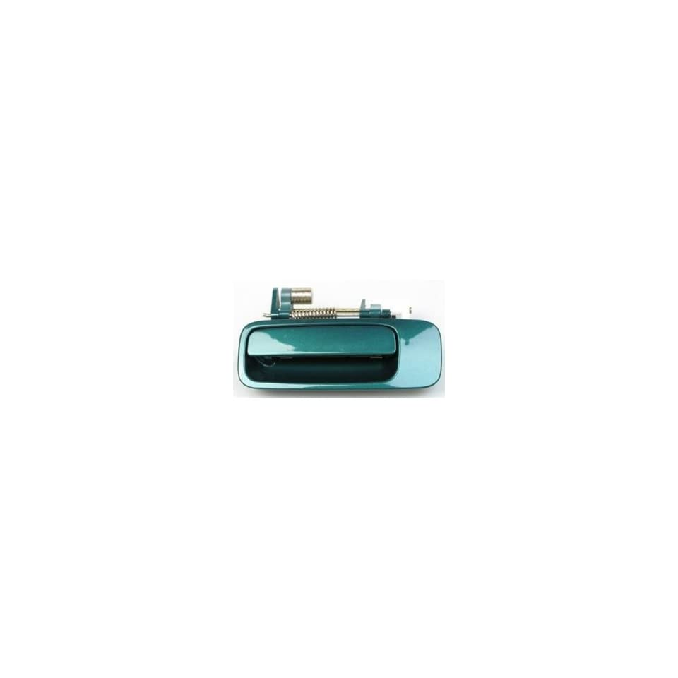 #B463 Motorking 69240AA010C0 97 01 Toyota Camry Green 6P2 Replacement Rear Driver Side Outside Door Handle 97 98 99 00 01