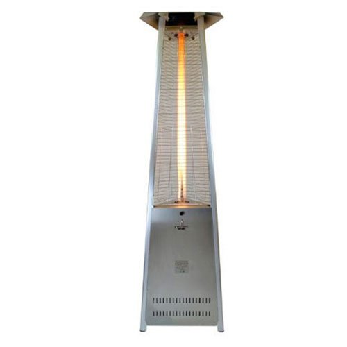 Lava Heat Italia Lava Lite Kd Propane Patio Heater, 51000 Btu, Stainless Steel (Kd Propane compare prices)