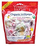 Yummy Earth Organic Lollipops, 50 ct