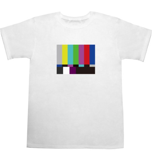Color Bar T-shirts ホワイト M