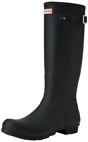Hunter - Original Tall, Stivali da Pioggia Donna, Black, 39 EU