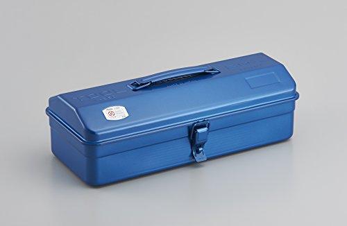 TOYO スチール製 山型工具箱 Y-350ブルー
