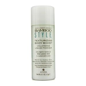 Alterna Bamboo Men Texturizing Body Boost Volumizing Liquid Powder for Unisex, 0.1 Ounce