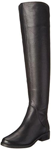 STEVEN by Steve Madden Women's Salley Rain Boot, Black, 8.5 M US (Steve Madden Rain Boots For Women compare prices)