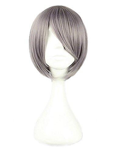 SHIKI di alta qualità Cosplay parrucca sintetica colore misto