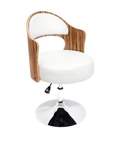 Lumisource Cello Chair, Zebra/White