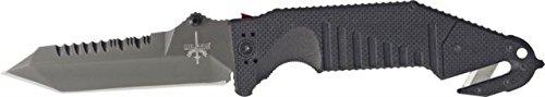 Mil-Tac Srk-1 Folder Knife, 6In. Closed K-Srk1-001