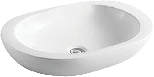 Elegant Casa Counter Top Wash Basin EC-450White