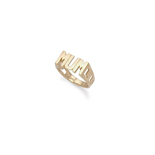 9ct Yellow Gold 'Mum' Ring