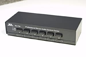 TCC TC-716 6-Way Stereo Source Selector; BLACK VERSION