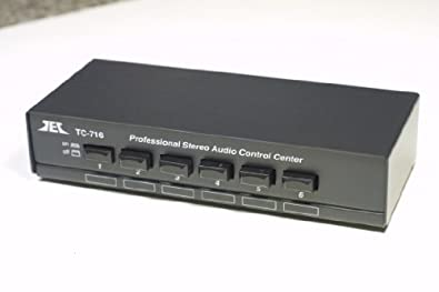 TCC TC-716 6-Way Stereo Source Selector; BLACK VERSION