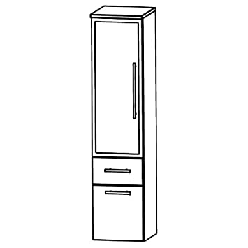 Perfect Swing Medium Cupboard (MNA883B7ML/R) Furniture, 30cm