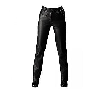 Roleff Racewear 250 Pantalon Cuir, Noir, 50