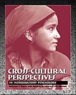 Cross-Cultural Perspectives in Introductory Psychology 4th edition