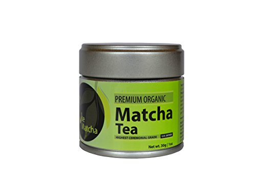 Matcha Green Tea Powder - USDA Organic - Premium Ceremonial Grade - Japanese - 1 oz