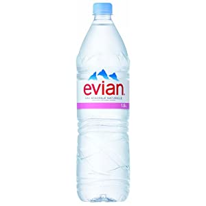 伊藤園 Evian(エビアン) ミネラルウォーター 1.5L×12本 [正規輸入品]