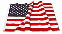 U.S. Nylon US Flag 3X5 ft - American Made - Embroidered Stars from Flags Unlimited