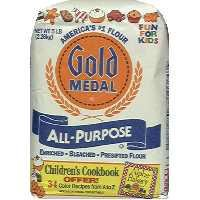 Gold Medal All Purpose Bleached & Enriched Flour 5 lbs (016000106109)