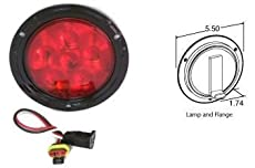 Truck-Lite Super 44 Stop, Turn & Tail LED 4'' 44036R