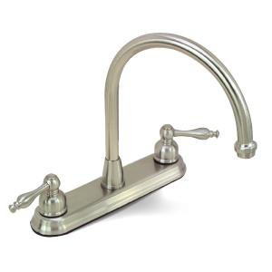 Brushed Nickel Kitchen Faucet with Sprayer (life time limited warranty)