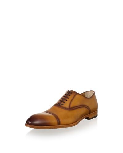 Antonio Maurizi Men's Cap-Toe Dress Shoe  [Cuoio]
