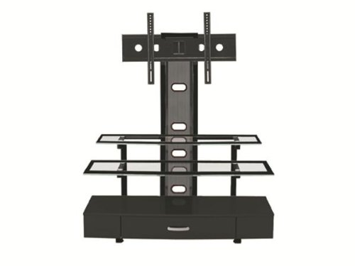 Z-Line Sync Flat Panel TV Stand with Integrated Mount