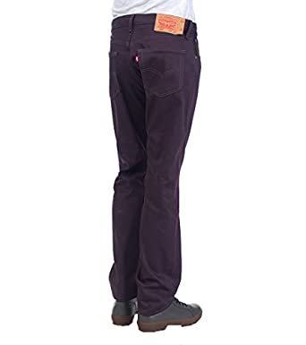 Levis 501 Original Fit Shrink To Fit Jean Dark Purple 00501-1498 34x32