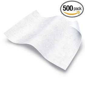 Medline Disposable Washcloths - Ultra-Soft Dry Cleansing Wipes, 10