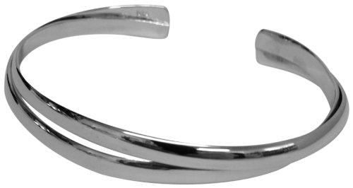 Sterling Silver Bangle Supplied In A Luxury Presentation Box