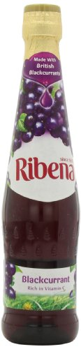 Ribena Original Blackcurrant Drink, 600 Ml Bottles (Pack Of 4)