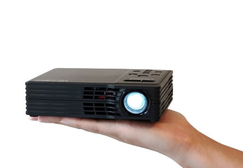 Aaxa mp 300 02 led showtime 3d pico micro projector with for Micro projector reviews
