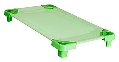 Learn and Play 100 x 55 x 12 cm Rest Bed (Green)