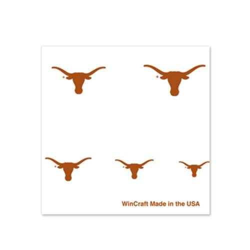 Texas Longhorns Fingernail Tattoos - 4 Pack