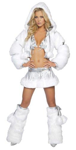 J Valentine Silver Snow Angel Complete Costume