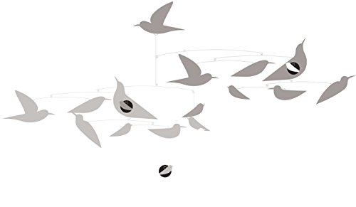 Djeco DD04371 Paper Mobile- White Birds Novelty (Bird Baby Mobile compare prices)