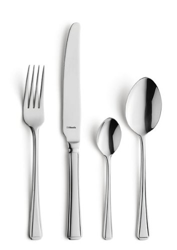 Amefa Monogram Harley Cutlery Set Stainless Steel 24 Piece