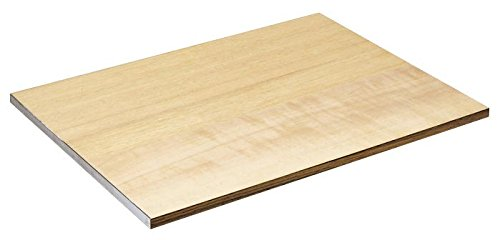Alvin DB114 Wood Drawing Board, Metal Edge, 18