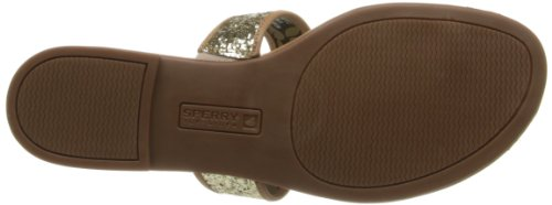 Sperry Top-Sider Women's Carlin Thong Sandal,Gold,7.5 M US