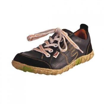 TMA EYES 6636 Schnürer Gr.37-42 mit bequemen perforiertem Fußbett 100% Leder 39.35 super leichter Schuh der neuen Saison. ATMUNGSAKTIV in Schwarz Gr.37